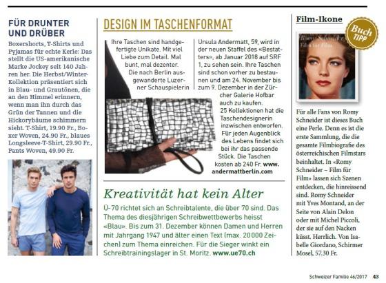 20171117_Artikel Schweizer Familie
